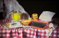 Banana and Typewriter